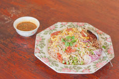 Thai style fried rice Stock Photo