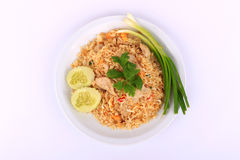 Thai Style Fried rice with pork in Bangkok, Thailand Stock Image