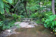 Thai style garden Royalty Free Stock Photo