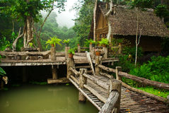 Thai-style gardens. Royalty Free Stock Images