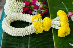 Thai style garland Royalty Free Stock Images