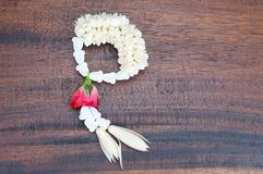 Thai style garland Stock Images