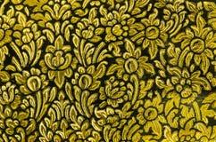 Thai-style  gild art pattern Royalty Free Stock Image