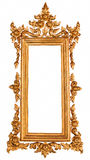 Thai style gold frame Royalty Free Stock Image