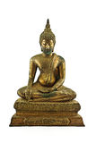 Thai style of golden buddha Stock Images