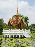 Thai golden pavilion Royalty Free Stock Photos