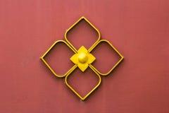 Thai style golden texture Stock Image