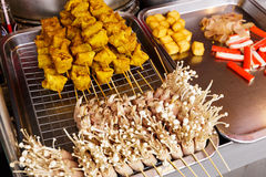 Thai style grilled food Royalty Free Stock Photography