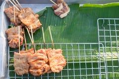 Thai style grilled pork, Thailand. Stock Photo