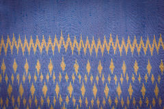 Thai style handcrafted textile made by silk from northeast, Thai Royalty Free Stock Images