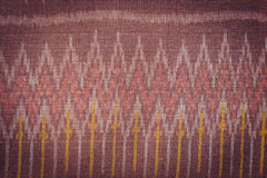Thai style handcrafted textile made by silk from northeast, Thai Stock Image