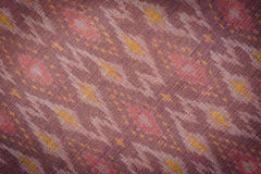 Thai style handcrafted textile made by silk from northeast, Thai Royalty Free Stock Photo