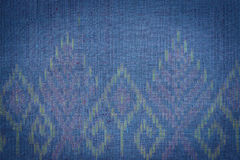 Thai style handcrafted textile made by silk from northeast, Thai Stock Photo