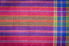 Thai style handcrafted textile made by silk from northeast, Thai Stock Photography
