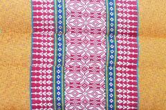 Thai style handmade fabric Stock Photos