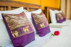 Thai style Hotel room Royalty Free Stock Photo