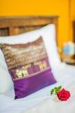 Thai style Hotel room Stock Photo