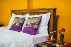 Thai style Hotel room Stock Image