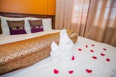 Thai style Hotel room Stock Photos