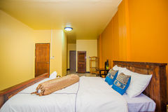 Thai style Hotel room Royalty Free Stock Images