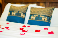 Thai style Hotel room Stock Images