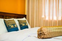 Thai style Hotel room Royalty Free Stock Photos