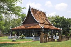 Thai Style House Royalty Free Stock Images