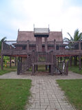 Thai style house Royalty Free Stock Photo