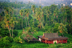 Thai style house Royalty Free Stock Photo