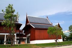 Thai style house Stock Images