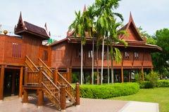 Thai style house Stock Photos