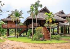 Thai-style house Stock Photos