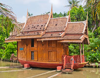 Thai-style houses Stock Photo