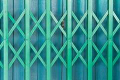 Thai style Iron Door Stock Photo