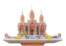 Thai style joss house Stock Image