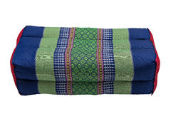 Thai style Khit pillow from northeast of Thailand Stock Photo