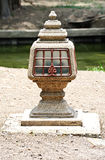 Thai style lamp Royalty Free Stock Photo