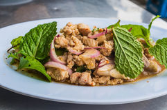 Thai Style Larb Moo Royalty Free Stock Photo