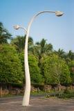 Thai style light pole against blue sky Royalty Free Stock Photo