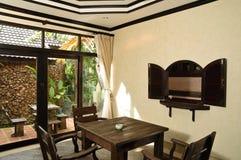 Thai style living room Stock Image