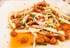 Thai style mango salad Stock Image