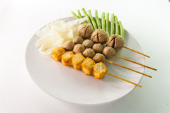 Thai style meatballs Royalty Free Stock Photography