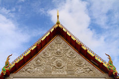 Thai style molding art Royalty Free Stock Images