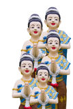 Thai style molding art Stock Photography