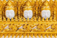 Thai style molding art Royalty Free Stock Photo