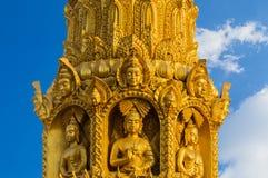 Thai style molding art Royalty Free Stock Photo
