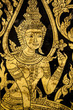 Thai style mural Stock Photo
