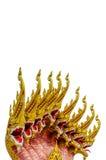 Thai Style Naga Head Royalty Free Stock Image