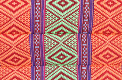 Thai style native textile Royalty Free Stock Photos