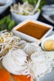 Thai style noodle Royalty Free Stock Photos